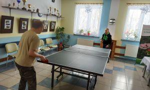 Popołudniami w ping - ponga gramy